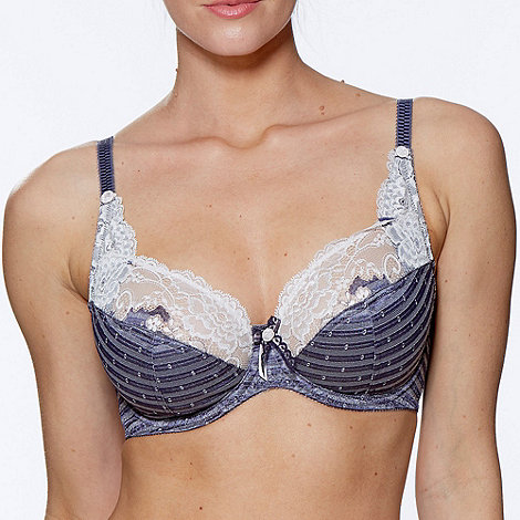 Charnos - Blue +Destiny+ full cup bra