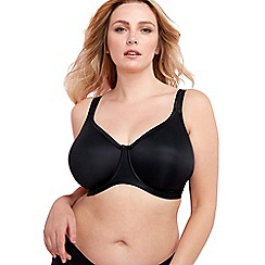 Elomi - Black 'Smoothing' seam free bra