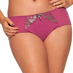 Curvy Kate - Pink 'Dare' shorts