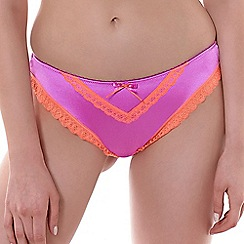 Freya - Purple 'Deco' brief
