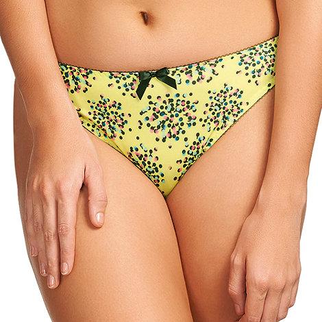 Freya - Yellow +Ignite+ thong