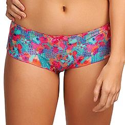 Freya - Pink 'Doodle' patterned shorts
