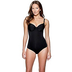 Charnos - Black 'Superfit' smooth everyday body shaper
