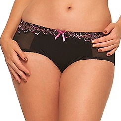 Curvy Kate - Black 'Carmen' shorts