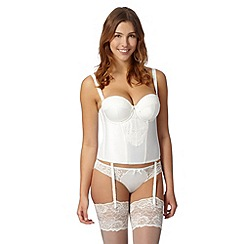 Gorgeous DD+ - Ivory lace basque