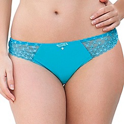 Curvy Kate - Turquoise 'Cascade' thong