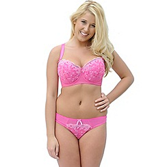 Curvy Kate - Bright pink 'Soda Pop' balcony bra