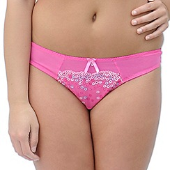Curvy Kate - Bright pink 'Soda Pop' thong