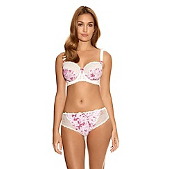 Fantasie - Bright pink 'Julia' floral side support bra