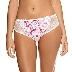 Fantasie - Bright pink 'Julia' floral briefs