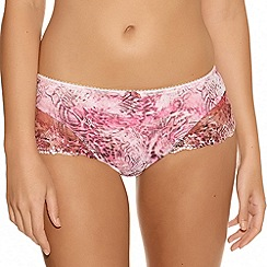 Fantasie - Pink 'Natalie' animal print shorts