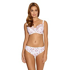Fantasie - White 'Alicia' lilly embroidery side support bra
