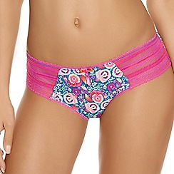 Freya - Bright pink 'Parade' briefs