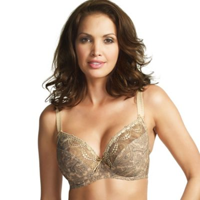 Gold Janette Side Support Bra