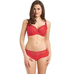 Freya - Red 'Rio' balcony bra