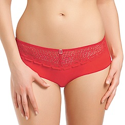 Freya - Red 'Rio' shorts