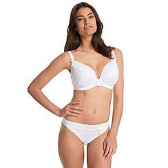 Freya - White fuller bust 'Lauren' balcony bra