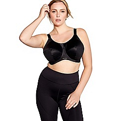 Elomi - Black 'Energise' sports bra