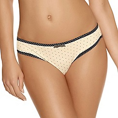 Freya - Ivory 'Deco Spotlight' briefs