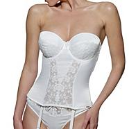 Ivory 'Belle' bridal basque