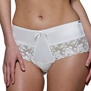 Ivory 'Belle' bridal french briefs
