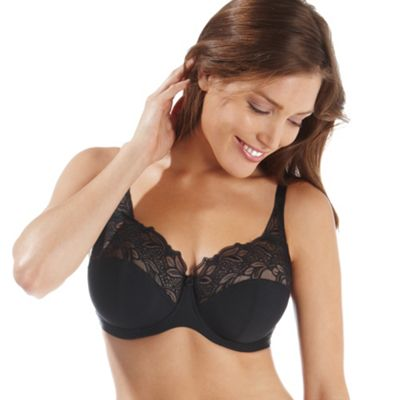 Black Melody full cup bra