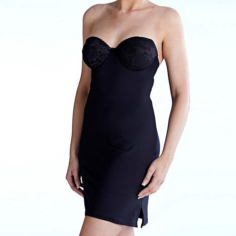 Charnos - Black +Superfit+ multiway bra slip