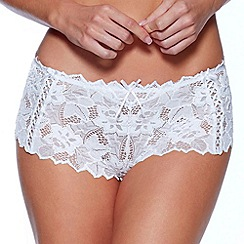 Lepel - White 'Fiore' short
