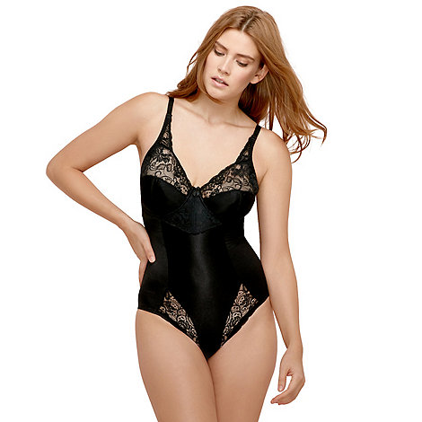 Charnos - Online exclusive black +superfit+ full cup body shaper