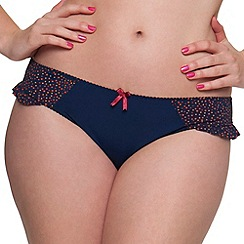 Curvy Kate - Navy 'Arizona' mini briefs