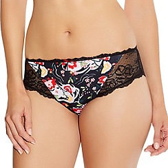 Fantasie - Black 'Clementine' brazilian brief