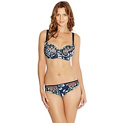 Fantasie - Navy 'Joanna' floral side support bra