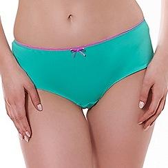 Freya - Aqua 'Deco vibe' shorts