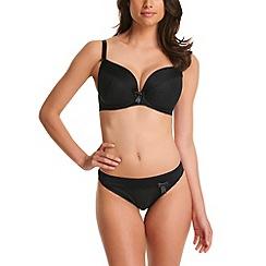 Freya - Black 'Lauren' plunge bra