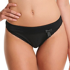 Freya - Black 'Lauren' brief