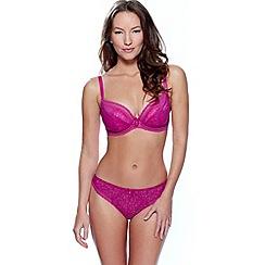Charnos - Pink 'Kate' plunge bra