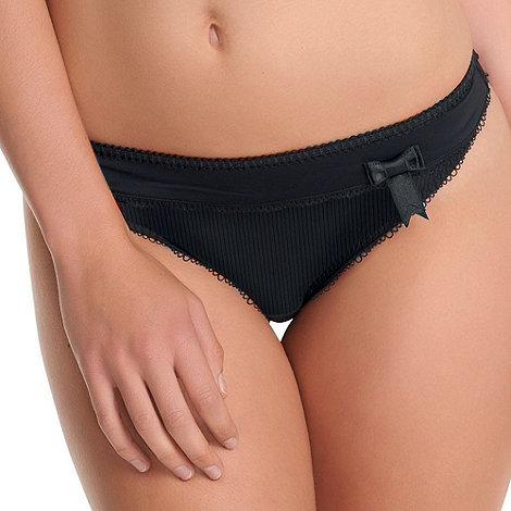 Freya - Black 'Lauren' thong
