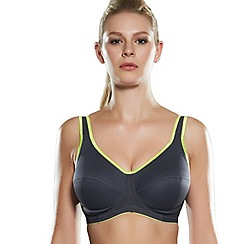 Freya - Black underwired sports bra