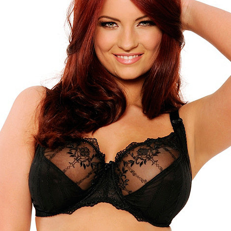Curvy Kate - Black +Emily+ balcony bra