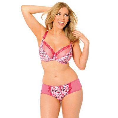 Pink Lottie D-K cup bra