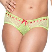 Online exclusive lime 'portia' shorts
