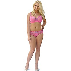 Curvy Kate - Dark pink 'Princess' balconette bra