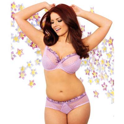 Purple Princess full cup bra