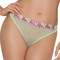 Curvy Kate - Green 'Princess' thong
