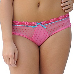 Curvy Kate - Dark pink 'Princess' shorts