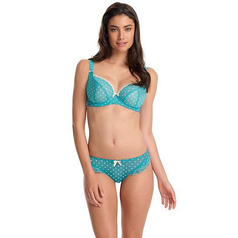 Freya - Turquoise +Patsy+ plunge bra