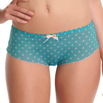 Turquoise Patsy shorts