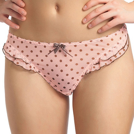 Freya - Light pink +Patsy+ thong