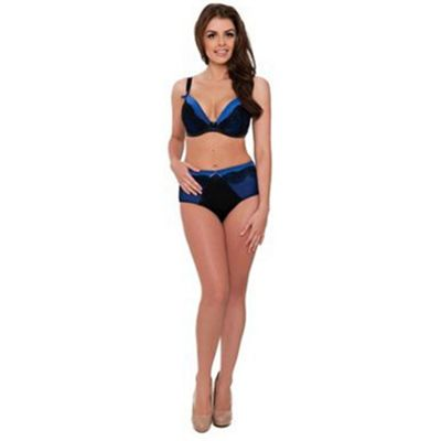 Blue Curvy Kate Tempt me hi waist brief