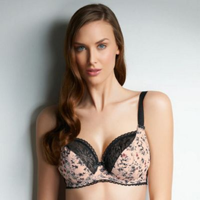 Peach Piper GG+ cup balcony bra